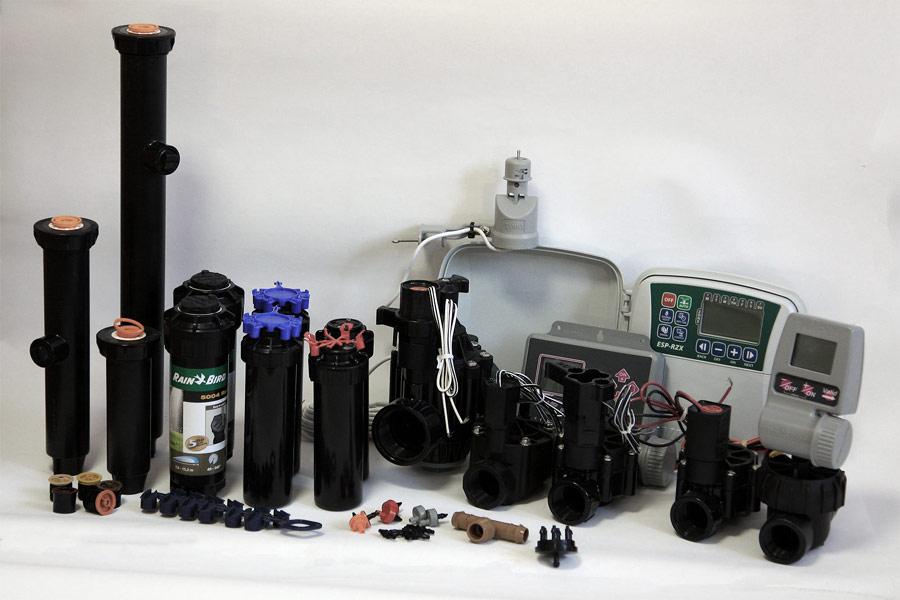 Оборудование для автоматического полива Hunter, Irritec, Rain Bird и многие другие.